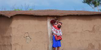 我镜头里的马赛族妇女儿童