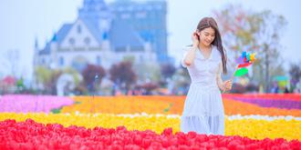 中国郁金香第一花海