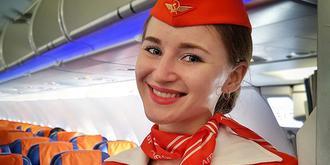 优雅大方的俄罗斯空姐