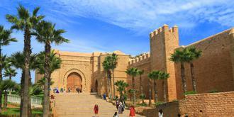 摩洛哥首都中世纪风情