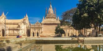 蒲甘现存最美的寺庙