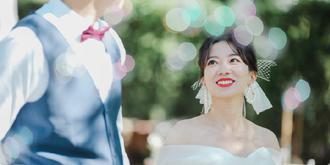 溫馨的草坪婚禮
