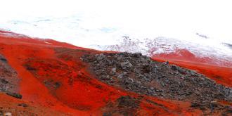 活火山上的奇觀