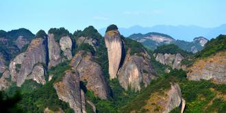 南方丹霞原始之美