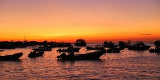 加拉帕戈斯絕美日落