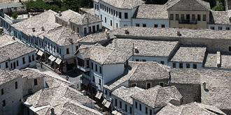 """阿尔巴尼亚""""石头城""""传奇"""