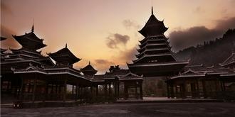 贵州侗寨神奇古建筑