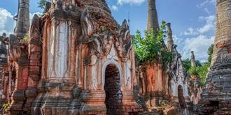 探秘缅甸古老的佛塔林