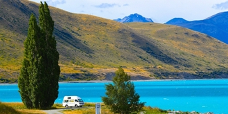新西兰梦幻蓝湖