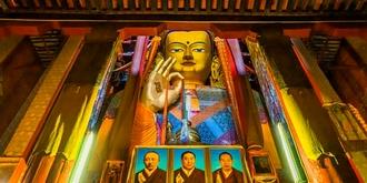 世界上最大的铜佛