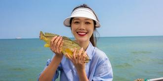 出海捕鱼收获大惊喜