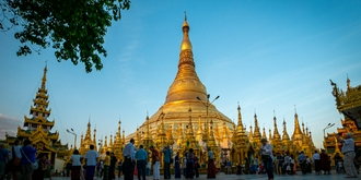 缅甸最神圣的佛塔