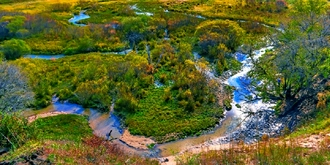 盘龙峡谷原始的美