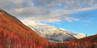 十月的北疆下雪了