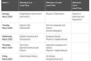 2019下半年三大國際課程考試時間一覽 值得收藏
