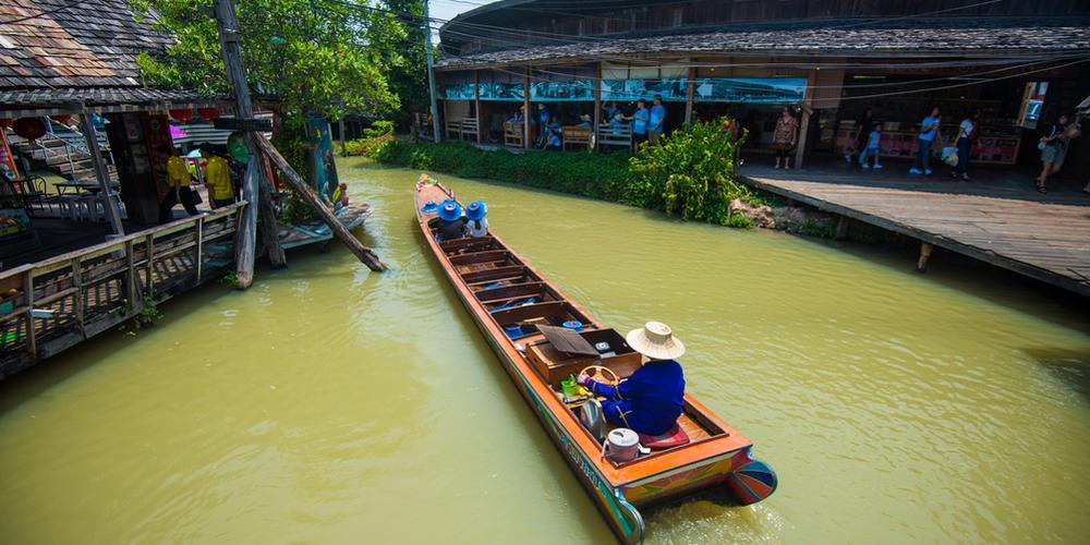 泰国水上集市