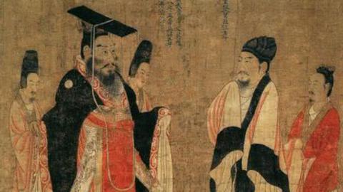 科取翎毛:仙鹤主动进献羽毛给皇帝
