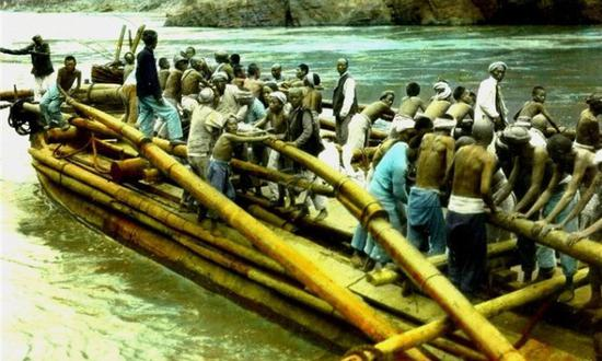 上色老照片:美国人拍摄百年前四川