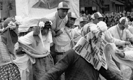 老照片:1949年刚解放的南京城