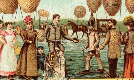 百年前的科幻世界看看有多少实现了
