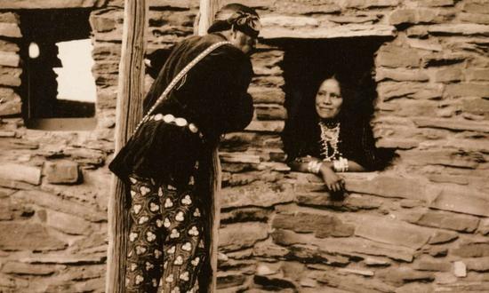 罕见老照片:100年间美国大峡谷里的游客