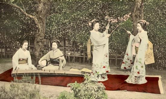 老照片:日本江户时代末期的社会风貌