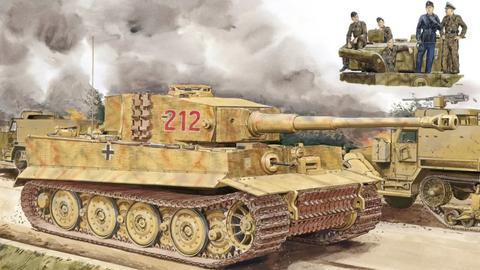 虎啸东线,二战德军第505重装甲营战史