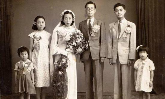 前辈的幸福时刻:民国结婚照