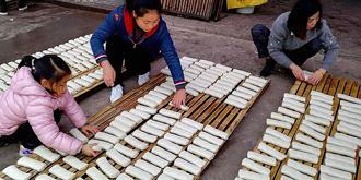 弋阳年糕,一天加工8000斤