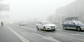 上海大雾弥漫