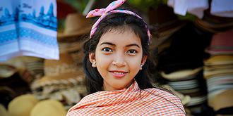 在柬埔寨拍美女