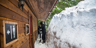 这里年平均降雪11.7米