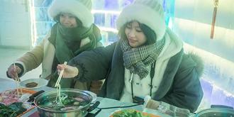 零下36℃的冰屋火锅