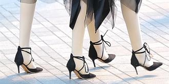 高跟鞋美女,怎么也看不够