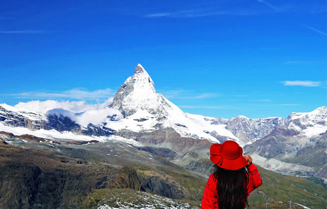 阿尔卑斯最美的雪山