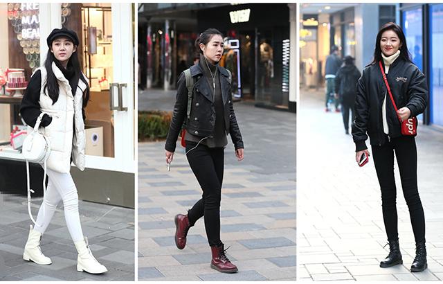 街拍:用得体服饰展现魅力
