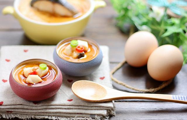 鲜奶鳕鱼蛋羹,普通美食的华丽变身