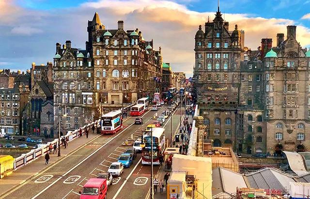 情迷爱丁堡,迟来的风景最值得等待