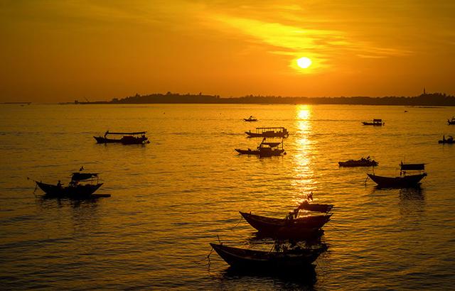 三娘湾:古词里的渔舟唱晚竟是如此美景