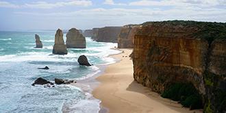 澳大利亚大洋路上的奇景