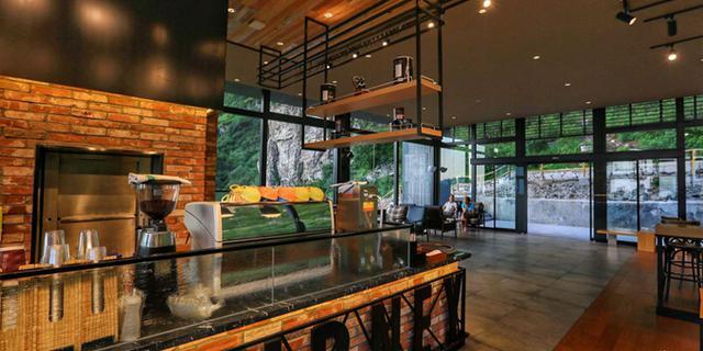 白石山的空中咖啡厅
