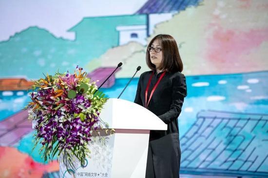 中国出版传媒股份有限公司科技与数字出版部主任、中版集团数字传媒有限公司总经理 赖雪梅