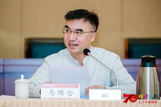 中国新闻出版传媒集团董事长 马国仓