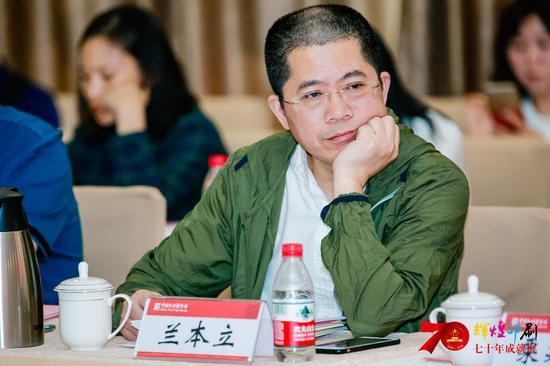 北京新华印刷有限公司总经理 兰本立