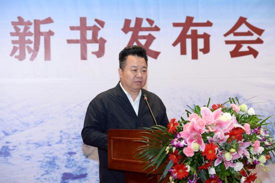 中国作协书记处书记邱华栋发言