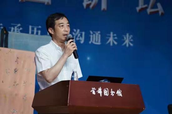 中國紡織出版社有限公司總經理董清松致辭