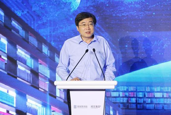 文化和旅游部党组成员、副部长张旭致辞