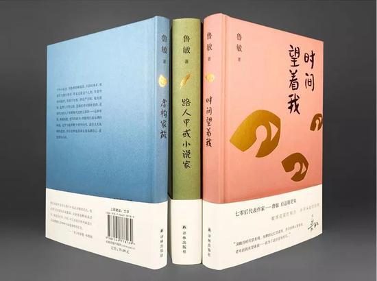 鲁敏非虚构作品的首次完整结集《时间望着我》《路人甲或小说家》《虚构家族》