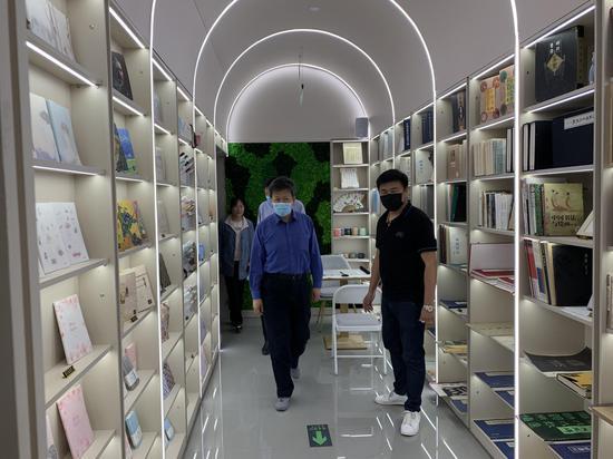 图为通州区远风唐书店