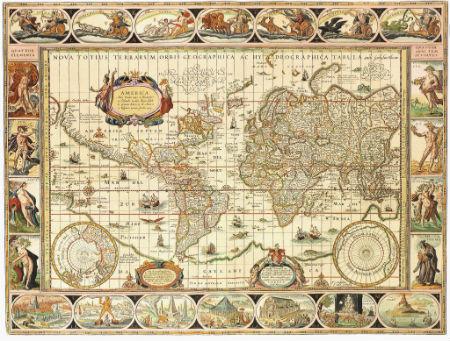 地图曾经是精美的艺术品和昂贵的奢侈品